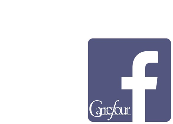 Carrefour x facebook